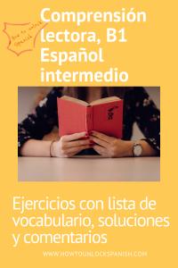 Comprensión Lectora B1 ejercicio