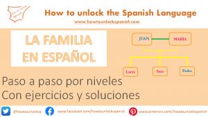 La familia en español