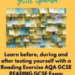 Reading GCSE foundation exercise