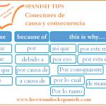 Read more about the article Conectores de causa y consecuencia