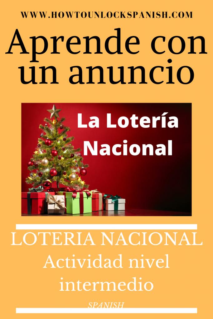 anuncio-loteria-nacional-actividad-tradicion-españa-fiesta-número-pelicula-aprender-español-learn-spanish