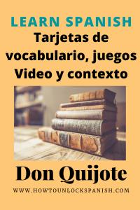 Aprende español con Don Quijote