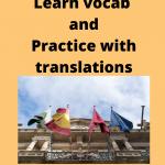 Read more about the article Practica el vocabulario traduciendo