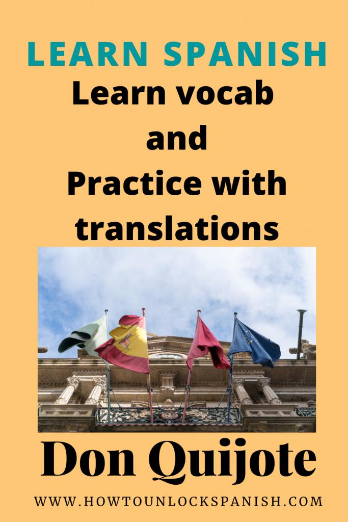 aprende-traduciendo-don-quijote-vocabulario-intermedio-traduccion-translate-vocabulary