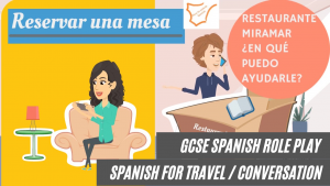 learn-spanish-book-a table-reservar-una-mesa-video-gcse-spanish-for-travel-holidays