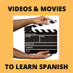 Read more about the article Videos and movies to Learn Spanish