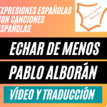Read more about the article Echar de menos con una canción