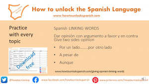 linking-words-two-sides-opinions-gcse-spanish